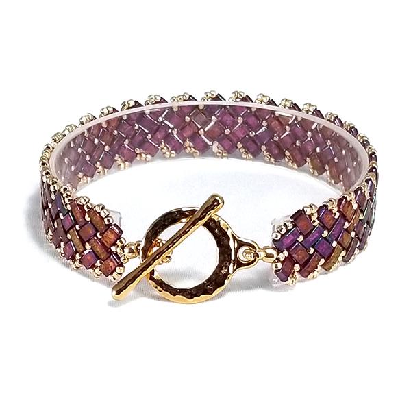 Golden Raspberry bracelet
